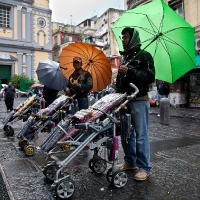 When it rains in Naples