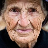 Old island woman