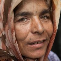 Muslim woman form Tetovo