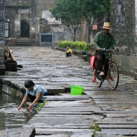 Disappearing village life in China