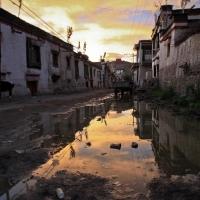 Tibetan village