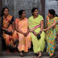 Group of women chatting