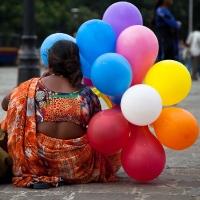 Baloon seller