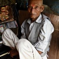 Nepali shopkeeper