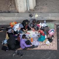 Iranian picnic