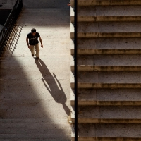 Stairs and shadows