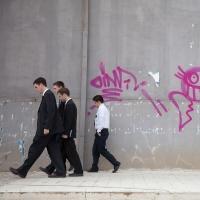 A group of Mormons dancing tonight, Tirana