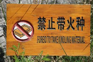 Chinglish mayhem